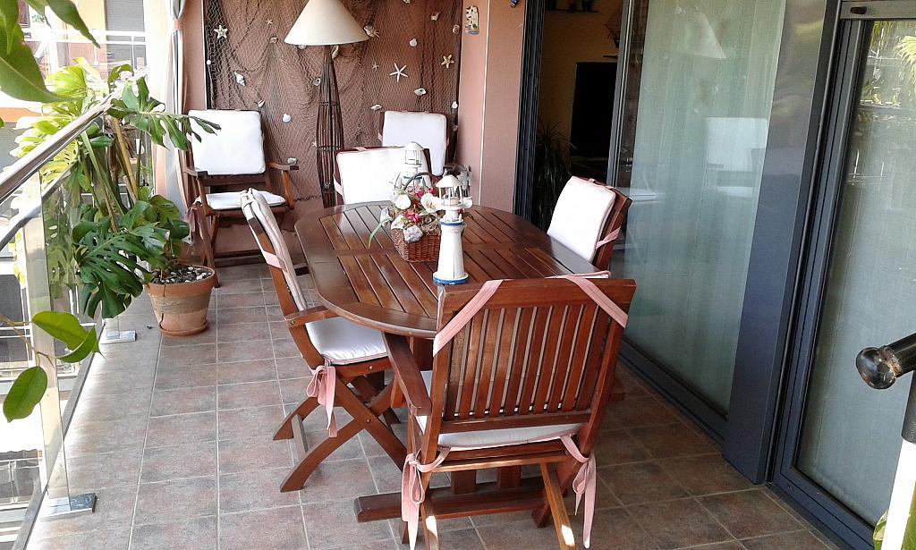 Terraza - Ático en alquiler en calle Passapera, Fanals en Lloret de Mar - 326683952