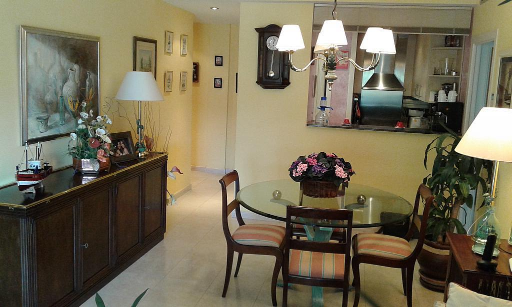 Comedor - Ático en alquiler en calle Passapera, Fanals en Lloret de Mar - 326684113