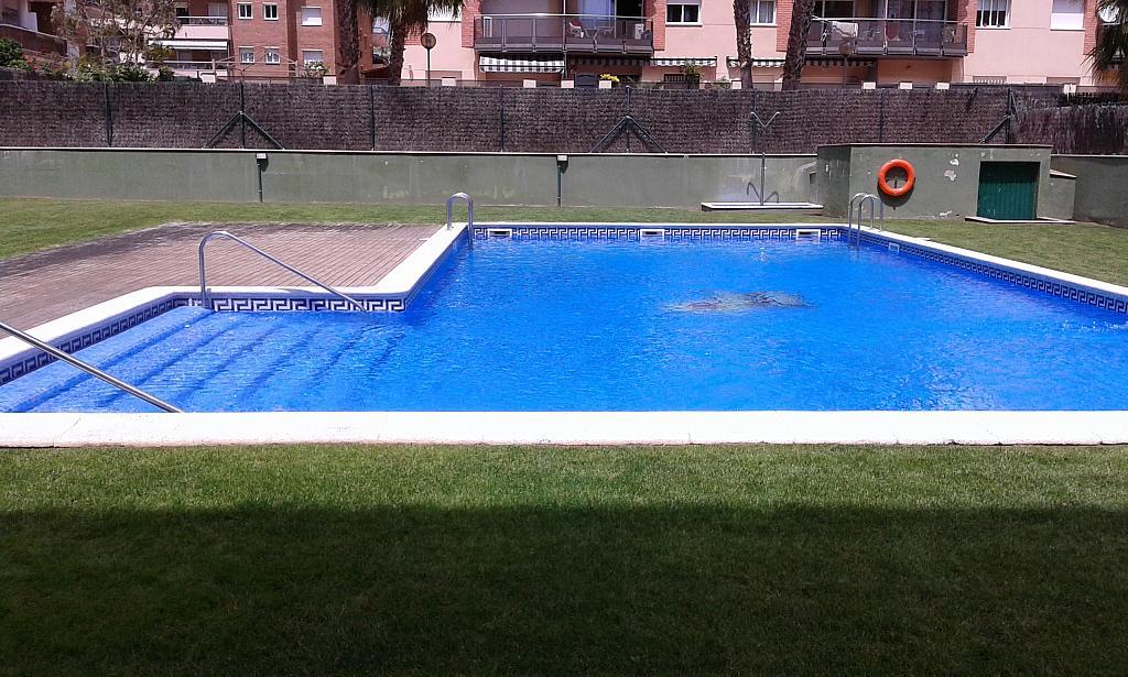 Piscina - Ático en alquiler en calle Passapera, Fanals en Lloret de Mar - 326684337