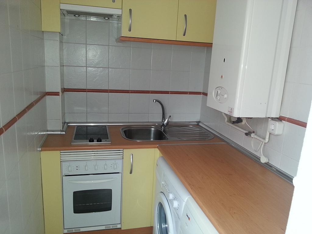 Cocina - Apartamento en alquiler en calle Islas Azores, Centro en Alcobendas - 341800340