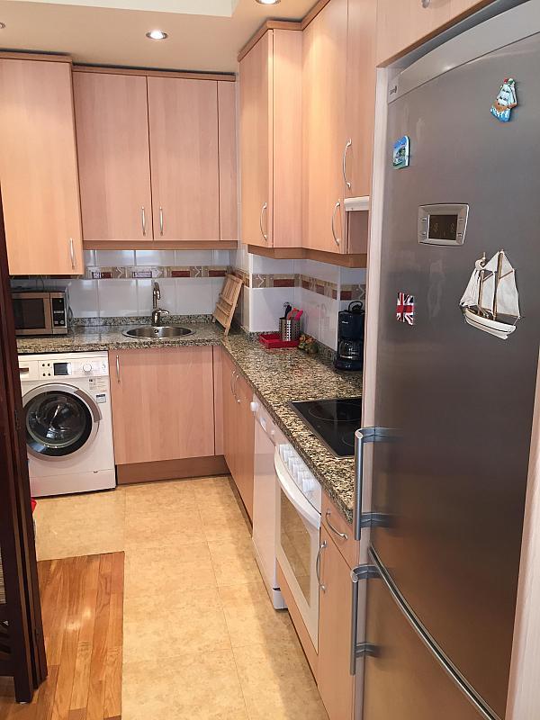 Cocina - Piso en alquiler opción compra en calle El Rincon, Luanco - 327649527