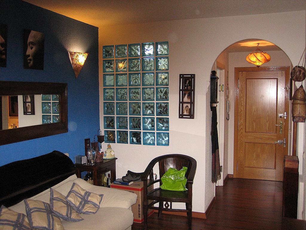 Salón - Apartamento en alquiler en calle Martin de Vargas, Acacias en Madrid - 328555784