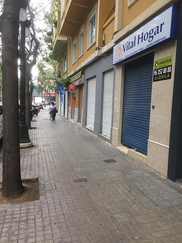 Fachada - Local comercial en alquiler en calle Antiguo Reino de Valencia, Russafa en Valencia - 331822812