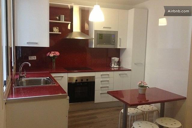 Cocina - Apartamento en alquiler en calle Escudellers, El Gótic en Barcelona - 329109891