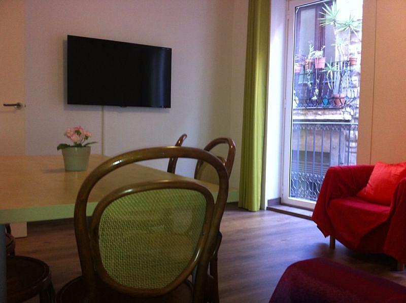 Salón - Apartamento en alquiler en calle Escudellers, El Gótic en Barcelona - 329109985