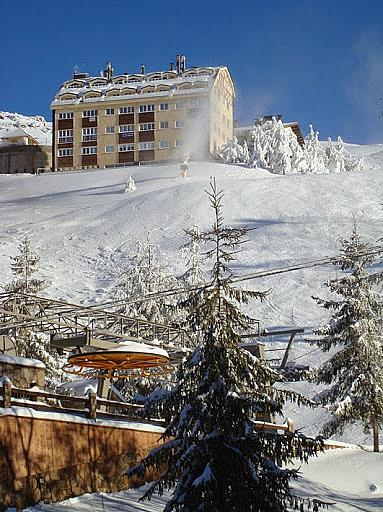 Vistas - Apartamento en alquiler de temporada en urbanización Solynieve, Sierra nevada - 329580968