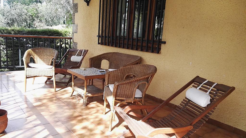 Porche - Chalet en alquiler en calle San Roque, Colmenar del Arroyo - 329574436