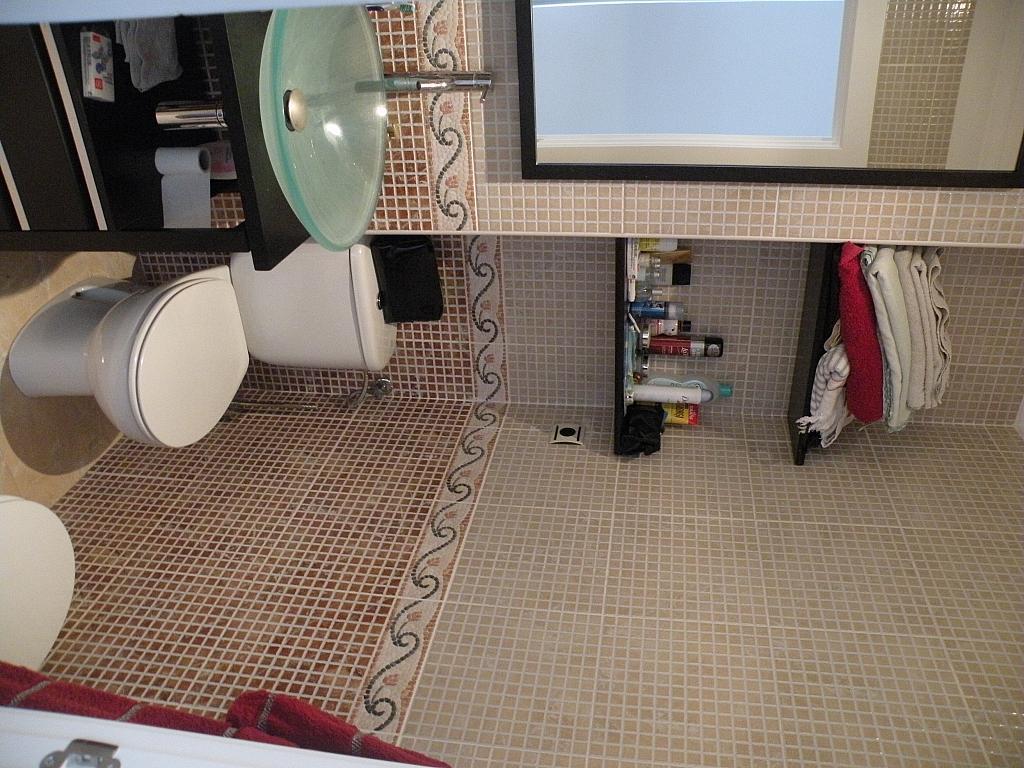 Baño - Piso en alquiler en calle Pintor Sobejano, San Antolin en Murcia - 330050162