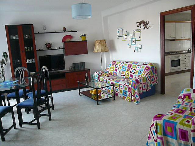 Salón - Piso en alquiler en calle Doctor Otero Ulloa, Marín - 330052157