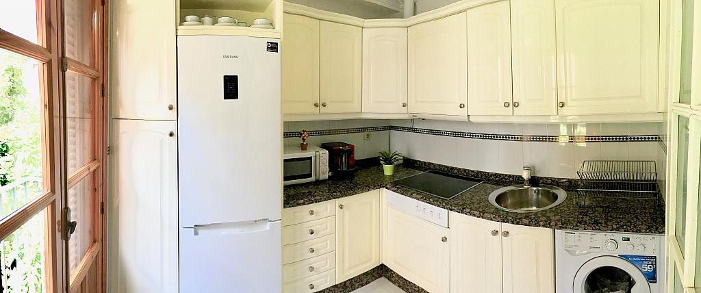 Cocina - Apartamento en alquiler en calle Santa Rufina, Feria-Alameda en Sevilla - 330152439
