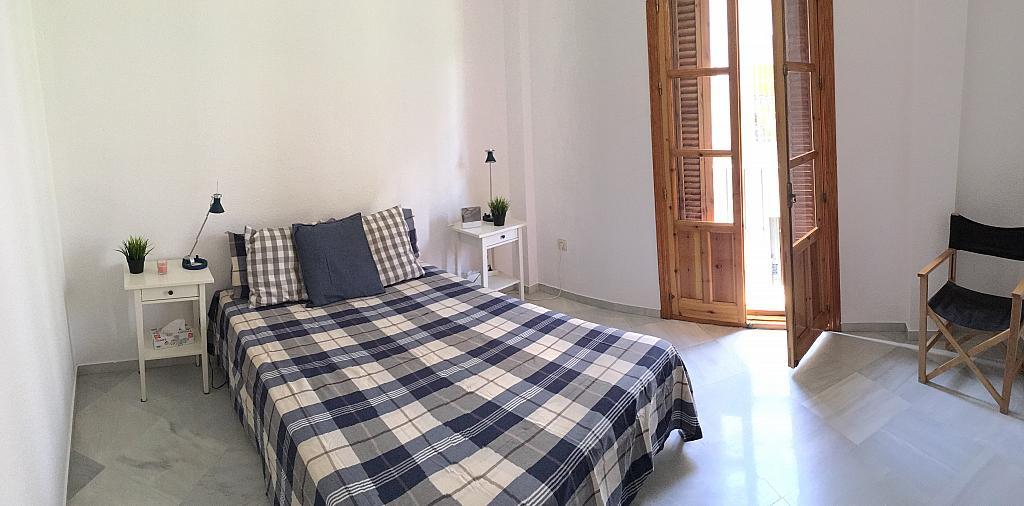 Dormitorio - Apartamento en alquiler en calle Santa Rufina, Feria-Alameda en Sevilla - 330152496