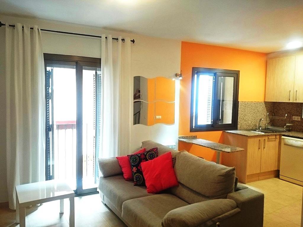 Salón - Casa adosada en alquiler en calle Nou, Falset - 330426929