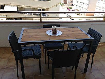 Terraza - Apartamento en venta en calle Joan Salvat Papasseit, Mas Mel en Calafell - 331030669