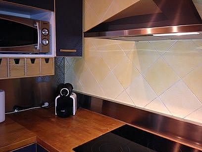Cocina - Apartamento en venta en calle Joan Salvat Papasseit, Mas Mel en Calafell - 331030750