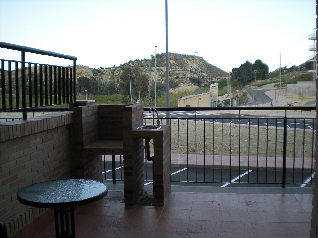 Terraza - Apartamento en alquiler en urbanización Hinojo, Villanueva del Río Segura - 331320307