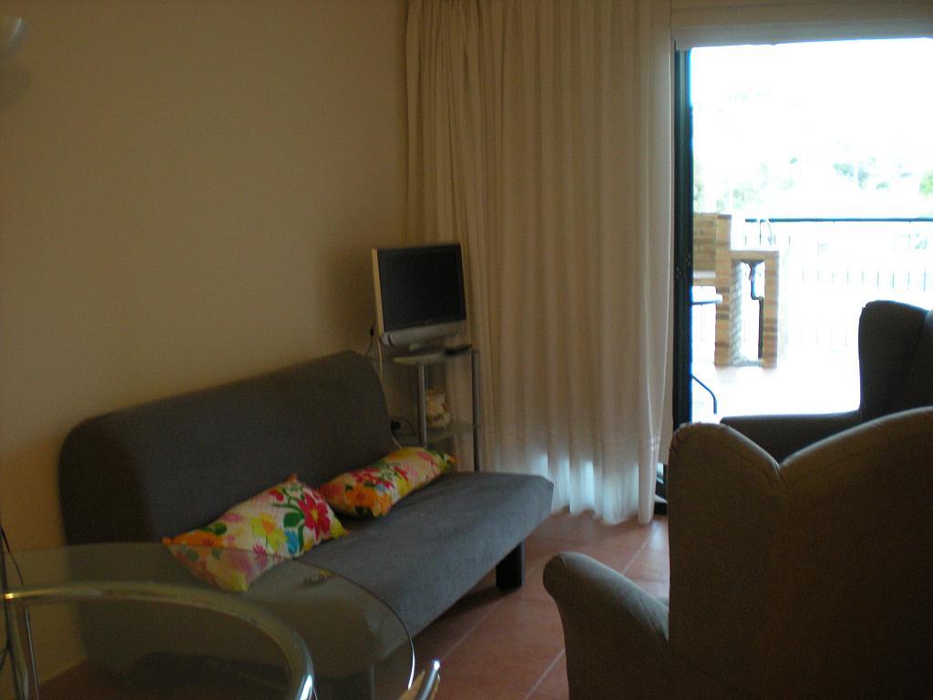 Salón - Apartamento en alquiler en urbanización Hinojo, Villanueva del Río Segura - 331320321