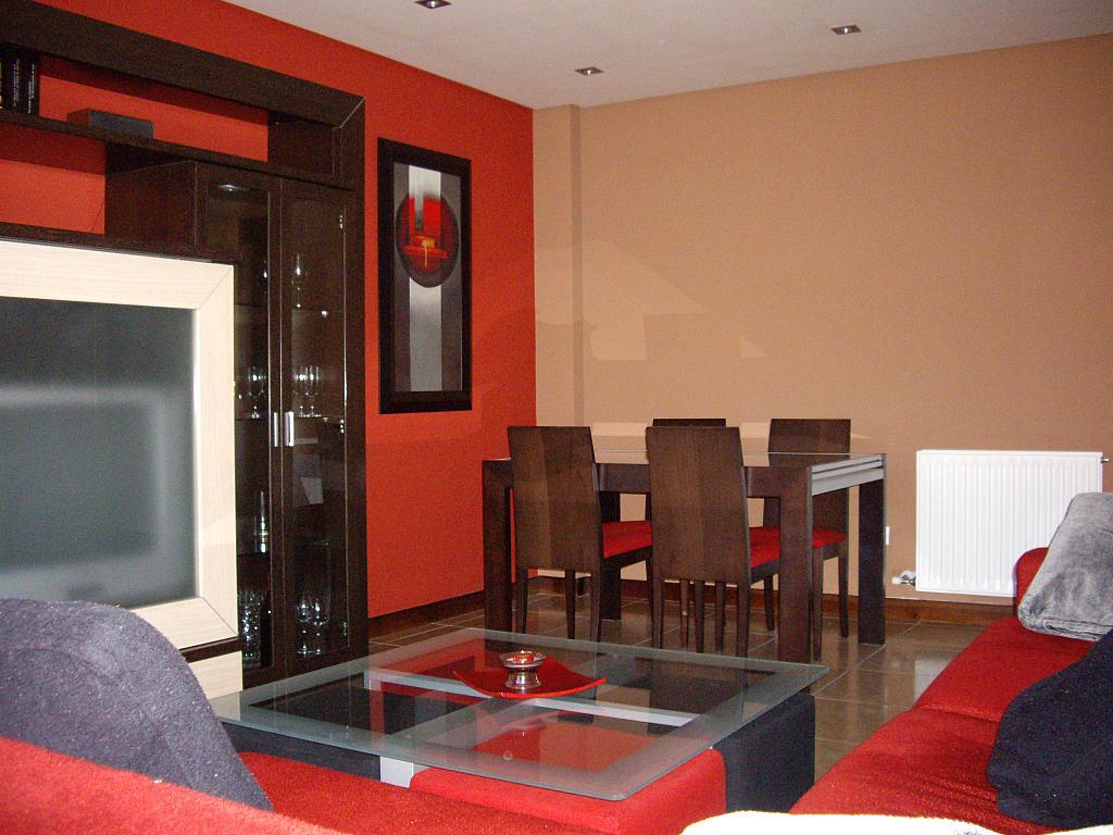 Salón - Piso en alquiler en plaza Sancho VII El Fuerte, Larraga - 331325780