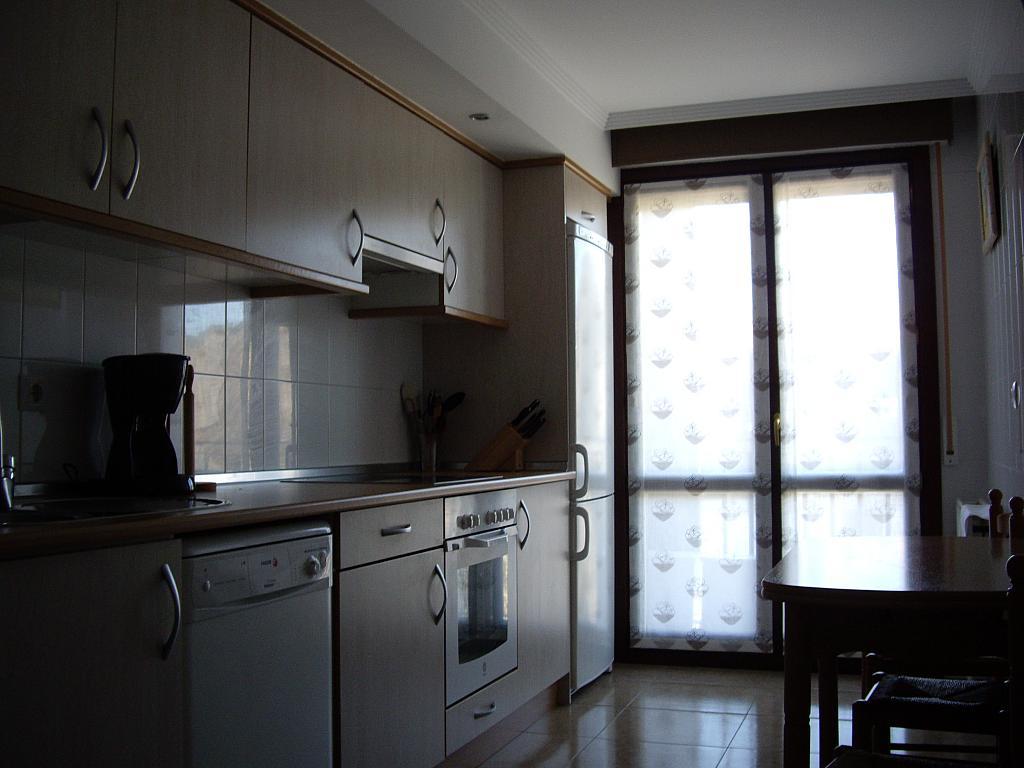 Cocina - Piso en alquiler en plaza Sancho VII El Fuerte, Larraga - 331325807