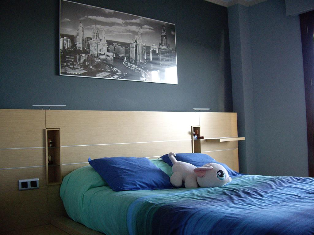 Dormitorio - Piso en alquiler en plaza Sancho VII El Fuerte, Larraga - 331325836