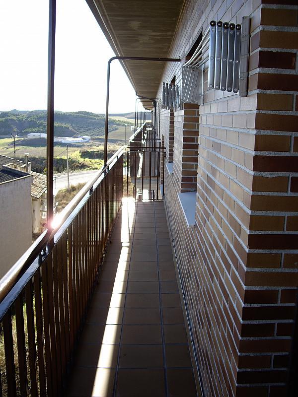 Balcón - Piso en alquiler en plaza Sancho VII El Fuerte, Larraga - 331325957