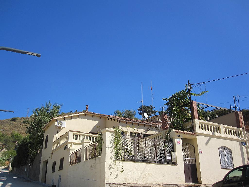 Fachada - Chalet en alquiler en plaza Pau Vila, Finestrelles en Esplugues de Llobregat - 332028905
