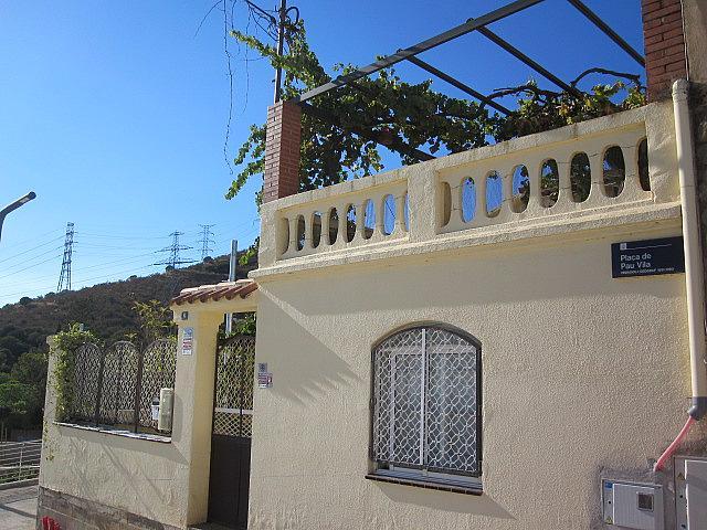 Fachada - Chalet en alquiler en plaza Pau Vila, Finestrelles en Esplugues de Llobregat - 332028929