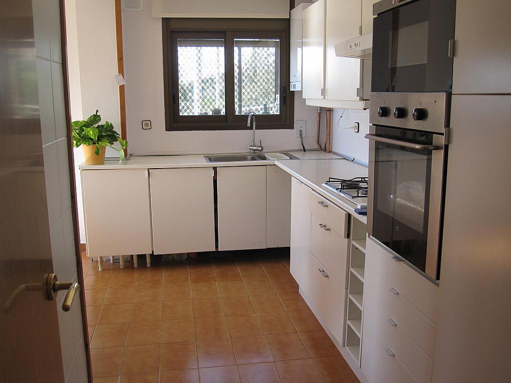 Cocina - Chalet en alquiler en plaza Pau Vila, Finestrelles en Esplugues de Llobregat - 332028978