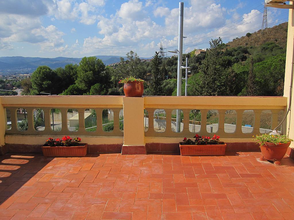 Terraza - Chalet en alquiler en plaza Pau Vila, Finestrelles en Esplugues de Llobregat - 332029087