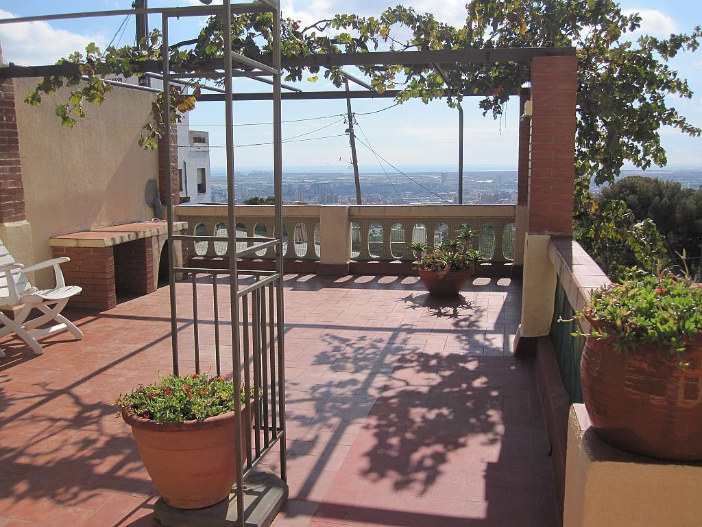 Terraza - Chalet en alquiler en plaza Pau Vila, Finestrelles en Esplugues de Llobregat - 332029098