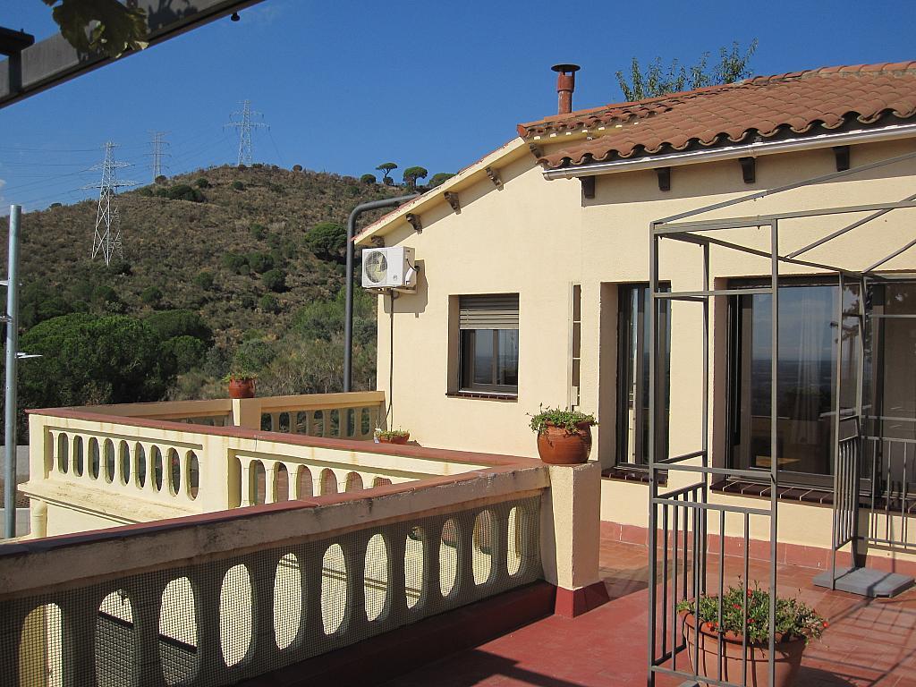 Terraza - Chalet en alquiler en plaza Pau Vila, Finestrelles en Esplugues de Llobregat - 332029118