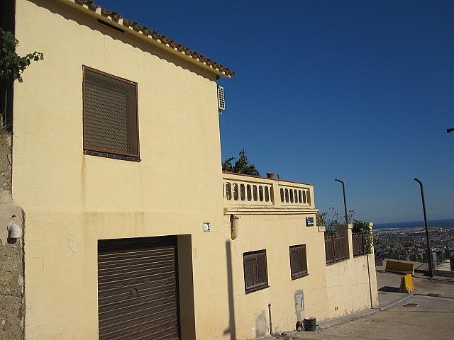 Fachada - Chalet en alquiler en plaza Pau Vila, Finestrelles en Esplugues de Llobregat - 332029184