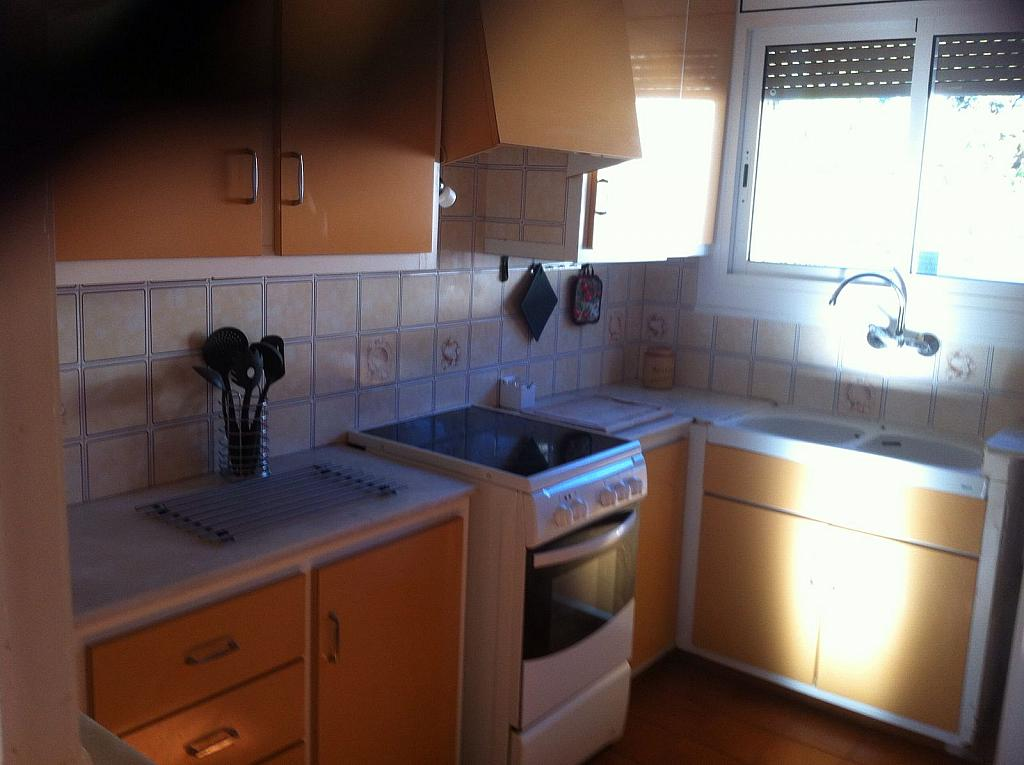 Cocina - Apartamento en alquiler en calle San Fructuoso, El francás en Coma-Ruga - 334781077