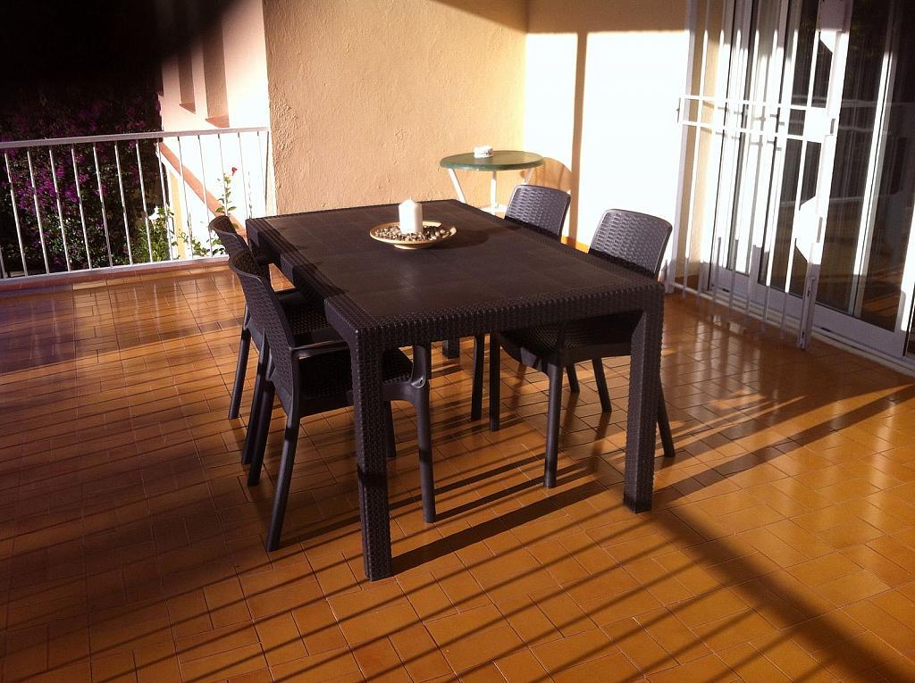 Terraza - Apartamento en alquiler en calle San Fructuoso, El francás en Coma-Ruga - 334781109