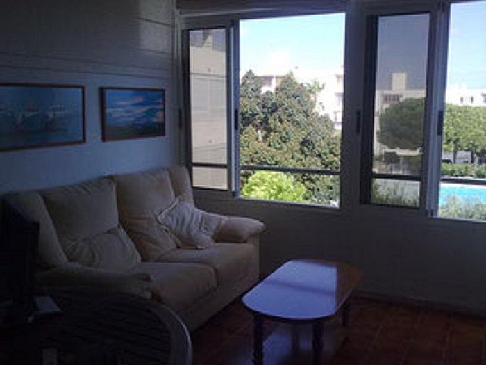 Salón - Apartamento en alquiler en calle D'escandinàvia, Gran Alacant en Santa Pola - 345748883
