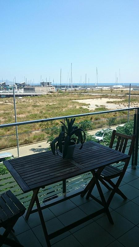 Terraza - Apartamento en alquiler en calle Mar Jónica, Progrés-Pep Ventura en Badalona - 349747337