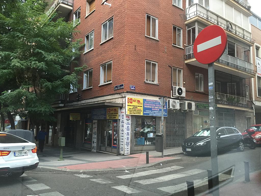 Fachada - Local comercial en alquiler en calle Alcalde López Casero, Ventas en Madrid - 328076501