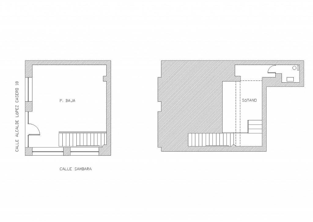 Plano - Local comercial en alquiler en calle Alcalde López Casero, Ventas en Madrid - 330132084