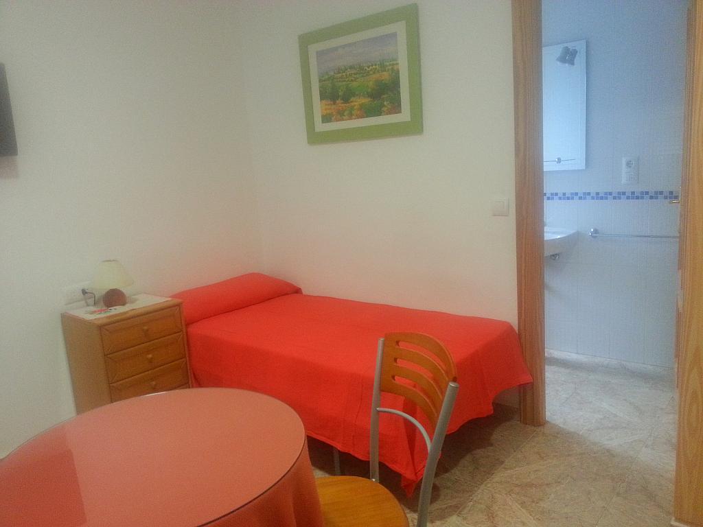 Dormitorio - Estudio en alquiler en calle Camino de la Zubia, Zaidín en Granada - 313879866