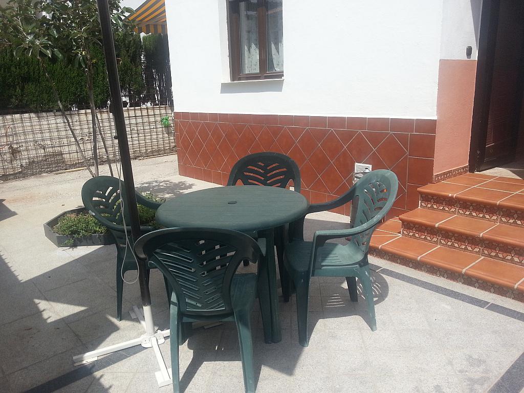 Jardín - Estudio en alquiler en calle Camino de la Zubia, Zaidín en Granada - 313880142