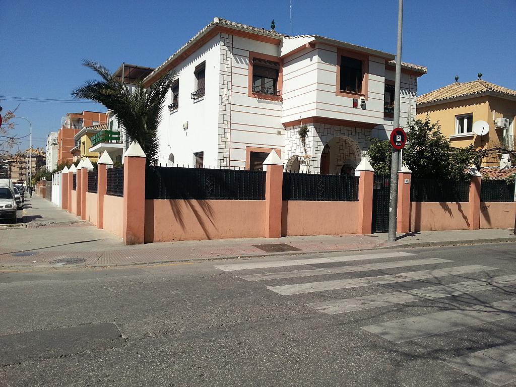 Fachada - Estudio en alquiler en calle Camino de la Zubia, Zaidín en Granada - 313880257