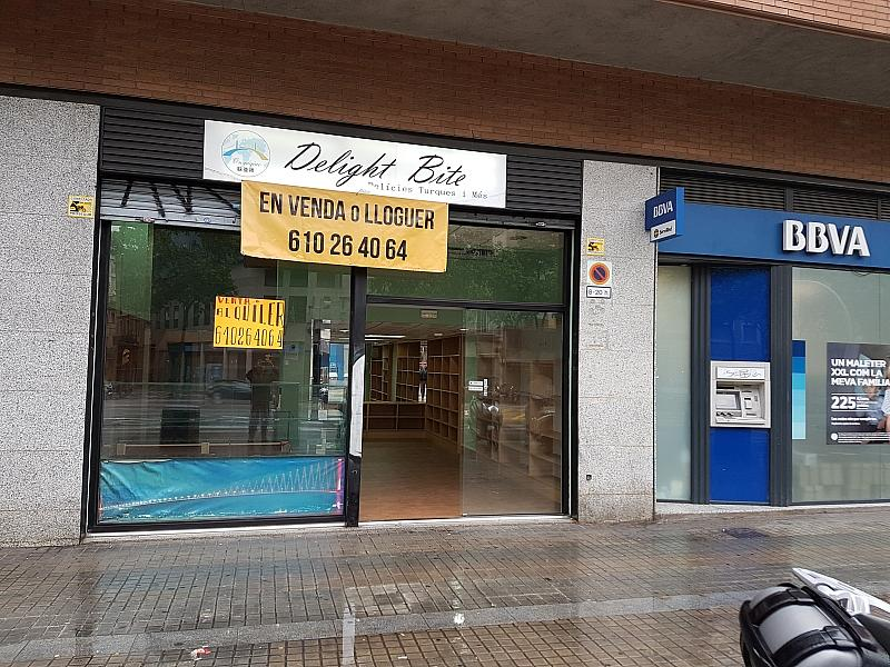 Fachada - Local comercial en alquiler opción compra en vía Gran Corts Catalanes, Sants en Barcelona - 274755147
