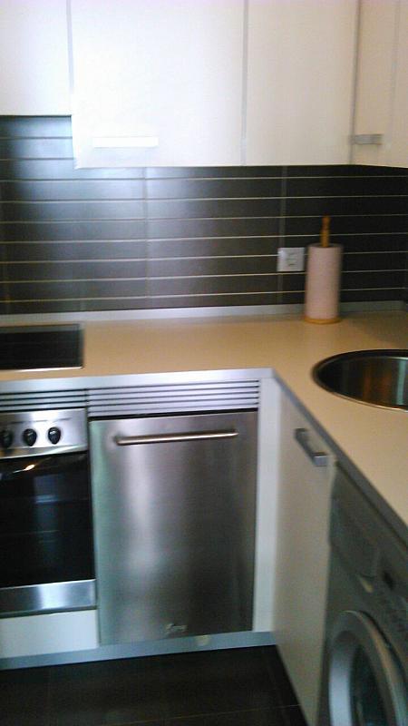 Cocina - Apartamento en alquiler en calle Baron Adzaneta, Ramales de la Victoria - 331017827