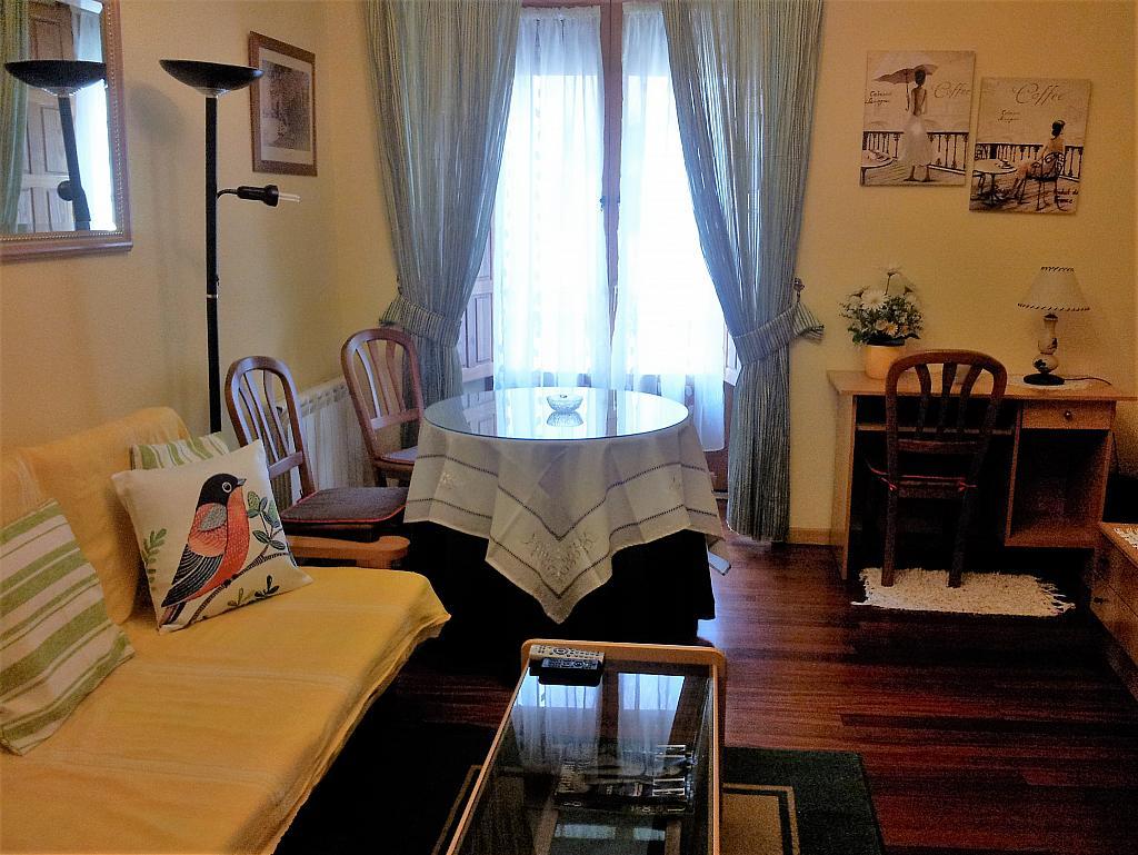 Salón - Apartamento en alquiler en calle Marqués de Benavites, Centro en Ávila - 338883323