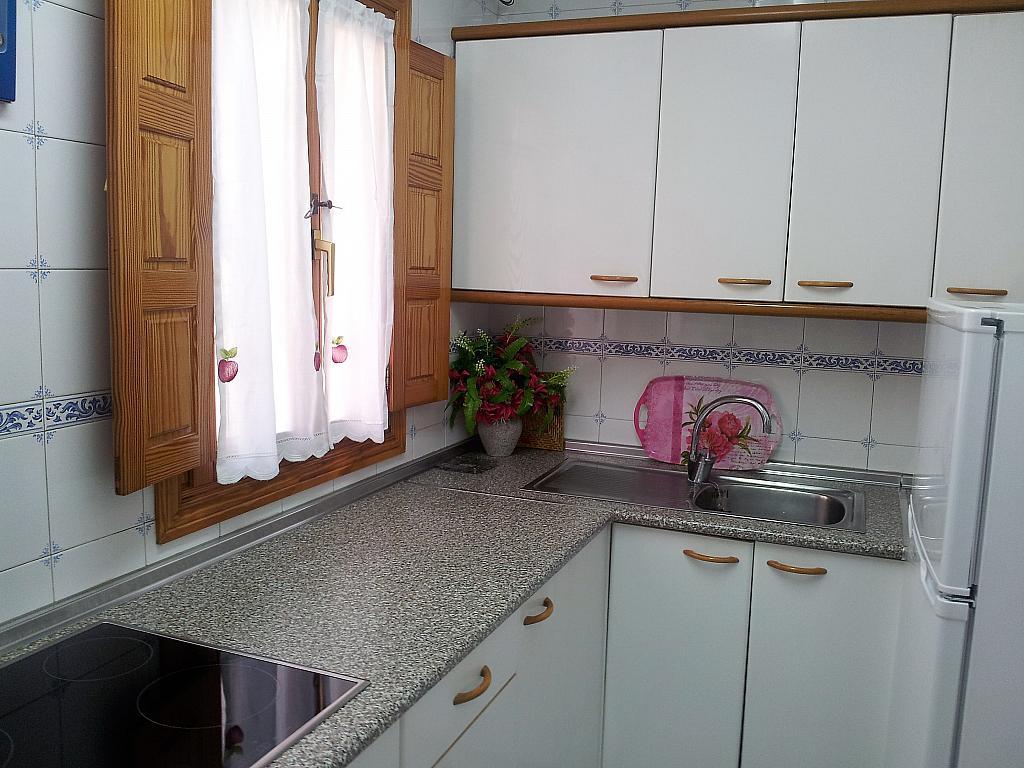 Cocina - Apartamento en alquiler en calle Marqués de Benavites, Centro en Ávila - 338883348