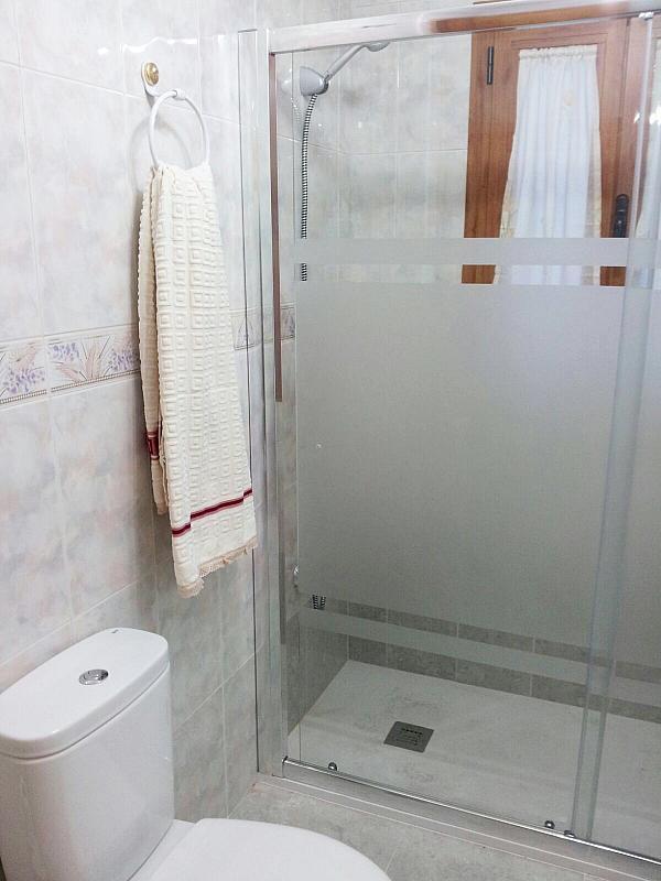Baño - Apartamento en alquiler en calle Marqués de Benavites, Centro en Ávila - 377098944