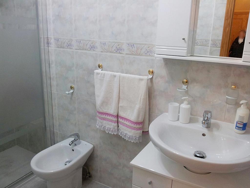 Baño - Apartamento en alquiler en calle Marqués de Benavites, Centro en Ávila - 377098949