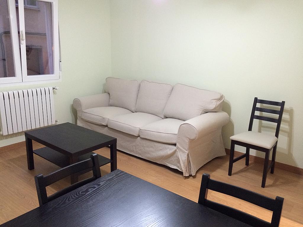Salón - Piso en alquiler en calle Pedro de Fuentidueña, Zona Centro-Barrio Amurallado en Segovia - 327366828