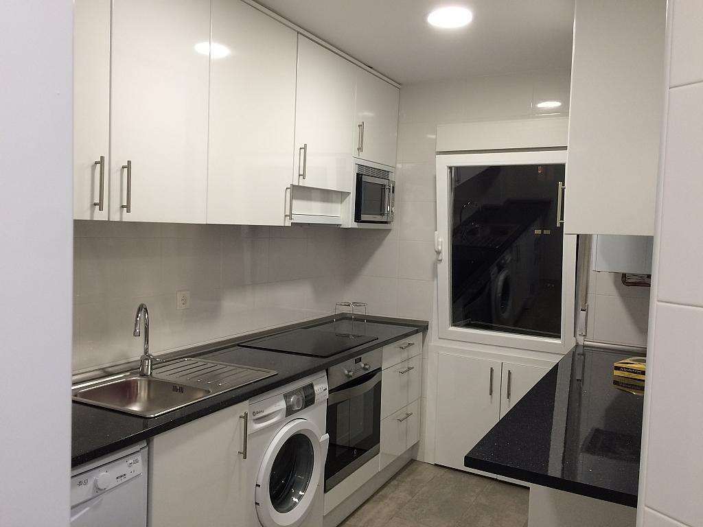 Cocina - Piso en alquiler en calle Pedro de Fuentidueña, Zona Centro-Barrio Amurallado en Segovia - 327366830