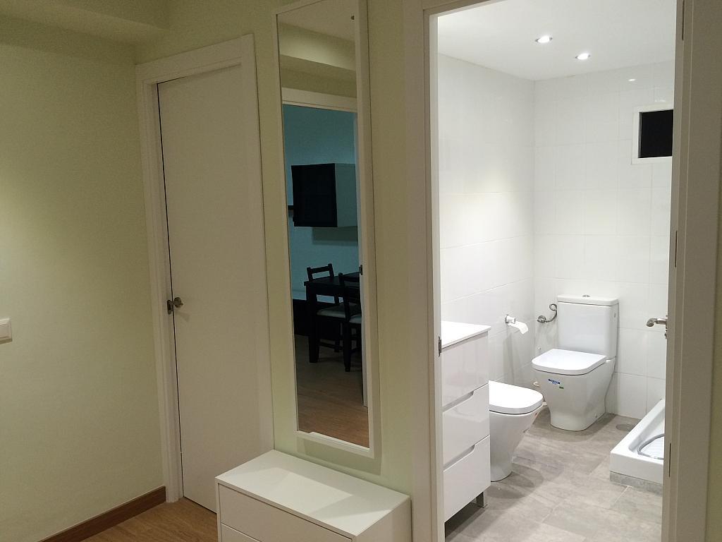 Baño - Piso en alquiler en calle Pedro de Fuentidueña, Zona Centro-Barrio Amurallado en Segovia - 327366834