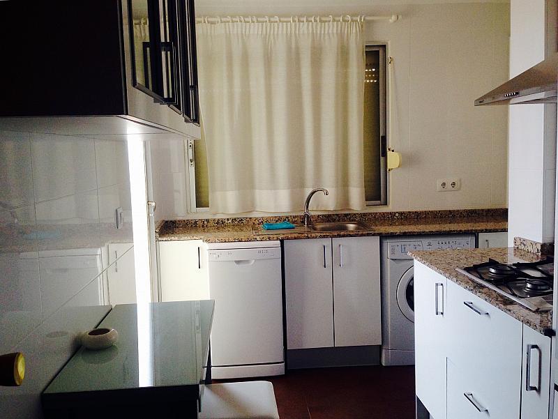Cocina - Apartamento en alquiler en calle Norte, Mareny Blau - 192156966